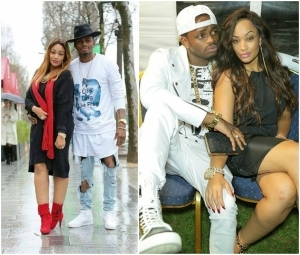 Seems Diamond Platnumz and wife are shading each other on Instagram